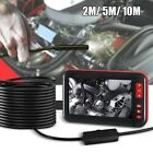 10M 4.3'' HD 1080P Digital Endoscope Inspection 8MM Camera Video Borescope+8 LED