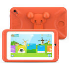 """1GB+8GB Quad Core 7"""" Kids Tablet PC Android 6.0 Dual Cameras HD WiFi Bundle Case"""