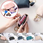 Small Wallet Handbag Wallet Leather Holder Zip Coin Purse Portable Wallets New
