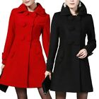 Apparel Korea Nepal Overcoat Casual Sliming Fitted Womens Warm Coat Size 12