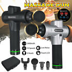 Rechargeable Percussion Massage Gun 10 Speeds Vibration Muscle Therapy Massager
