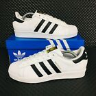*NEW* Adidas Originals Superstar Women's Athletic Sneakers White Shell Toe Shoes