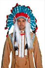 Native American Inspired Headdress, Blue COST-ACC NEW