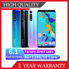 """6.1""""inch P41 Pro 9.0 Android Face Id Unlocked Mobile Smart Phone Dual Sim 8+128g"""