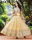 Indian Pakistani Bollywood Cotton Printed Gown Salwar Kameez Designer Party Wear