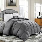 GOOSE DOWN ALTERNATIVE SUPERSOFT LUXURY COMFORTER DUVET QUILTS MOST COLORS USA image