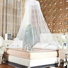 US Bed Lace Mosquito Netting Mesh Princess Canopy Dome Home Bedding Net Round image