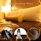 US 3 Sizes Sex Rubber Bed Sheet Waterproof Cosplay Sheet Wet Works Waterproof  image