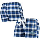 Orlando Magic Concepts Sport Women's Piedmont Flannel Sleep Shorts - Royal/Black on eBay