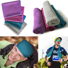 Ice Cold Instant Cooling Towel for Sports Gym Pilates Fitness Workout Running image