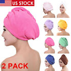 Kyпить 2pcs Microfiber Towel Quick Dry Hair Magic Drying Turban Wrap Cap Bathing Shower на еВаy.соm