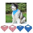 Christmas Saliva Towel Pet Dog Cat Collar Triangle Scarf For Small Dogs