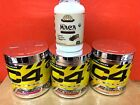 Cellucor C4 (60 Servings) Original Explosive Pre-workout + FREE PERU BLACK MACA