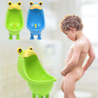 Cute Frog Shaped Boys Urinal Kid Baby Potty Toilet Training Pee Trainer Bathroom image