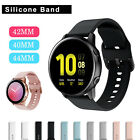 For Samsung Galaxy Watch Active 2 Gear S2 Classic 40/42/44mm Leather Wrist Band image