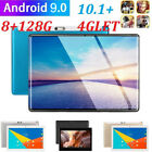 "4g-lte 8+128g 10.1"" Tablet Android 9.0 2.5d Fhd Screen Dual Sim Wifi Phone Call"