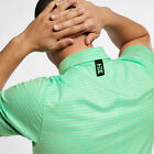 2019 Tiger Woods TW Vapor Dry Stripe Polo Shirt BQ6722-342 @ Choose Size