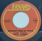 """Chick Carbo-Biggest Fool In Town / Touch Me 7"""" 45-Revue Records  2 , R 11019,, U"""