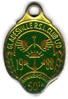 GLADESVILLE R.S.L. CLUB LTD MEMBER BADGE AUSTRALIA 1988 AU CONDITION
