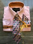 Boys Formal Dress Shirt with Matching Tie and Hanky Vangogh Sizes 3M 6M 9M NEW