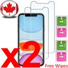 iPhone 11, 11 Pro, Pro Max, XS XR XS MAX Tempered Glass Screen Protector -2 PACK <br/> 3 - 7 BUSINESS DAYS DELIVERY WITHIN CANADA. CANADA POST