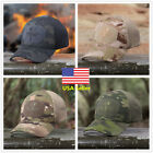 4Colors Camouflage Multicam Military Outdoor Tactical Cap Hiking Baseball  ❤