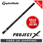 PROJECT X HZRDUS BLACK 65 GOLF DRIVER SHAFT - TAYLORMADE, CALLAWAY - 5.5+6.0+6.5