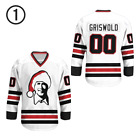 Clark Griswold 00 Chicago Alternate Hockey Jersey Free Shipping