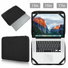 """Slim Sleeve Laptop Case Carry Cover Bag for 13"""" 15"""" 17"""" Macbook  HP Notebook PC"""