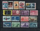 17 Vintage USA Stamps priced to clear stock P704