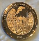 Year Of Racial Violence Coin Medal