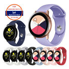A# Silicone Sport Watch Band Strap For Samsung Galaxy Watch Active 1/2 40mm 44mm image