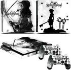 PlayStation 4 slim PS4 slim Console skins of Kingdom Hearts game cover sticker