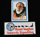 Mount Vaughan Antarctic Expedition patch & Signed Collector Card