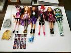 Mattel Monster High Doll Lot of 6 With Clothes Must See