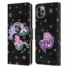 OFFICIAL MY LITTLE PONY RAINBOW VIBES LEATHER BOOK CASE FOR APPLE iPHONE PHONES