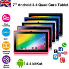 7 Inch Kids Android Tablet Pc 8gb Quad Core 4.4 Dual Camera Wifi Hd Tablets Uk