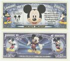 USA United States 1 Million Dollars UNC Banknote - Mickey Mouse Disney
