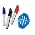 Golf Ball Line Marker Stamp Drawing Tools with 3 Pens Alignment Marks Sign Tool