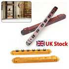 Mahogany 6 Cue Pool Snooker Billiard Table Wall Rack Cue Rest + Extension Holder £12.77 GBP on eBay