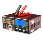 12/24V Intelligent Automobile  Pulse Repair Battery Charger Car Motorcycle US