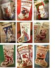 Cross Stitch Christmas Stocking Kits New Old Stock  Sealed