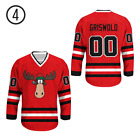 Clark Griswold 00 Chicago Alternate Hockey Jersey moose B