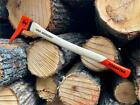 Hookaroon pickaroon move firewood AND logs with ease!!! BACK SAVER GREAT GIFT