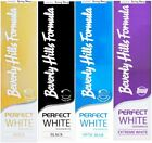 Beverly Hills PERFECT WHITE Whiten Boost Toothpaste Charcoal/Gold/Optic/Extreme