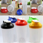 600ml BPAfree Quake Protein Blender Shaker Mixer Cup Drink Whisk Ball Bottle