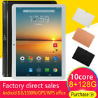 "10.1"" inch Tablet PC Android HD Pad 8 128G Dual SIM Dual Camera WiFi GPS Phablet"
