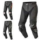 Alpinestars Track V2 Leather Motorbike Biking Riding Pants