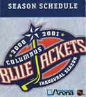 2000's NHL Columbus Blue Jackets Hockey Schedule - U-Pick From List $1.95 CAD on eBay