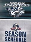 1990's to 2000's NHL Nashville Predators Hockey Schedule - U-Pick From List $2.95 CAD on eBay